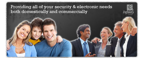 Providing all of your security & electronic needs both domestically and commercially
