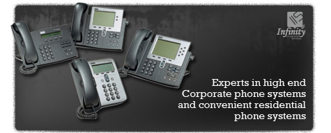 Experts in high end Corporate phone systems & convenient residential phone systems